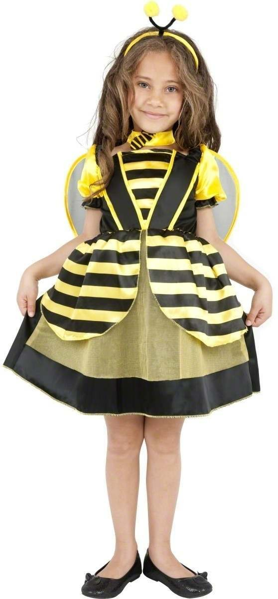 Beautiful Bee Fancy Dress Costume Girls