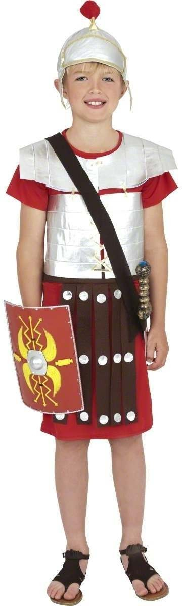 Roman Soldier - Fancy Dress Boys (Army)
