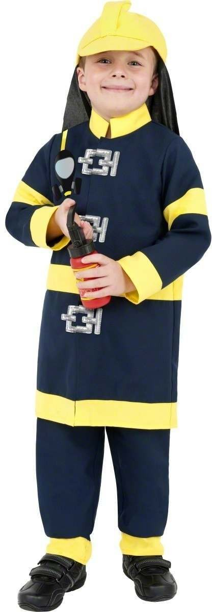 Fireman Boy Fancy Dress Costume Boys (Fire Service)