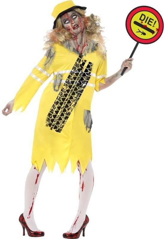 Zombie Lollipop Lady Fancy Dress Costume