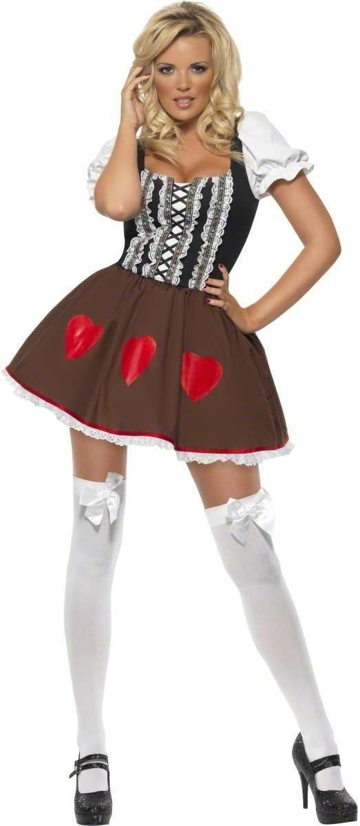 Fever Heidi Fancy Dress Costume Ladies