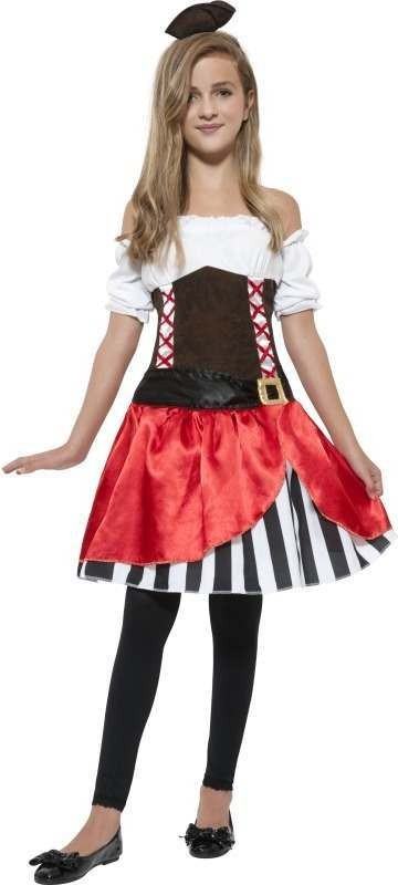 Miss Pirate Fancy Dress Costume