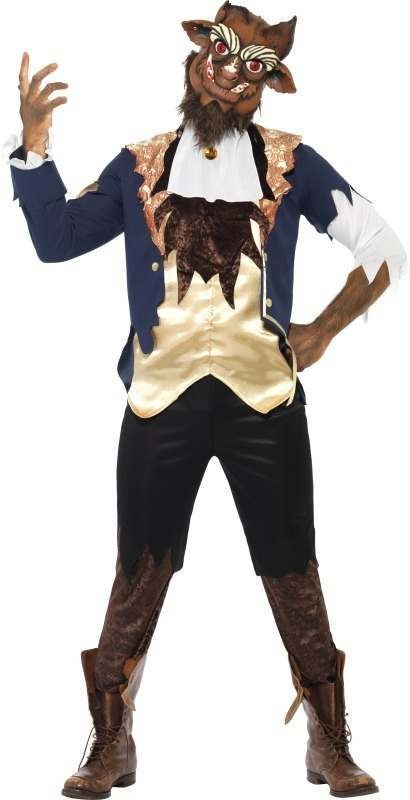 Beast Fancy Dress Costume