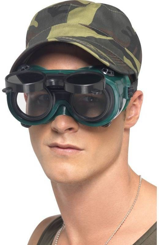 Night Vision Goggles (Army Fancy Dress Glasses)
