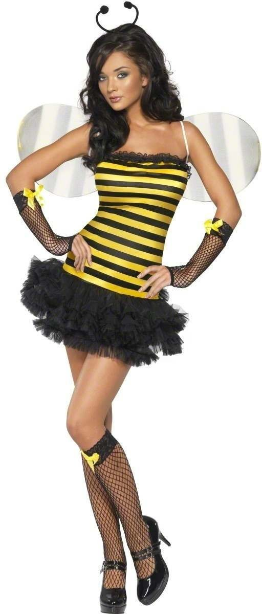Fever Bumble Bee Fairy Fancy Dress Costume Ladies (Fairy Tales)