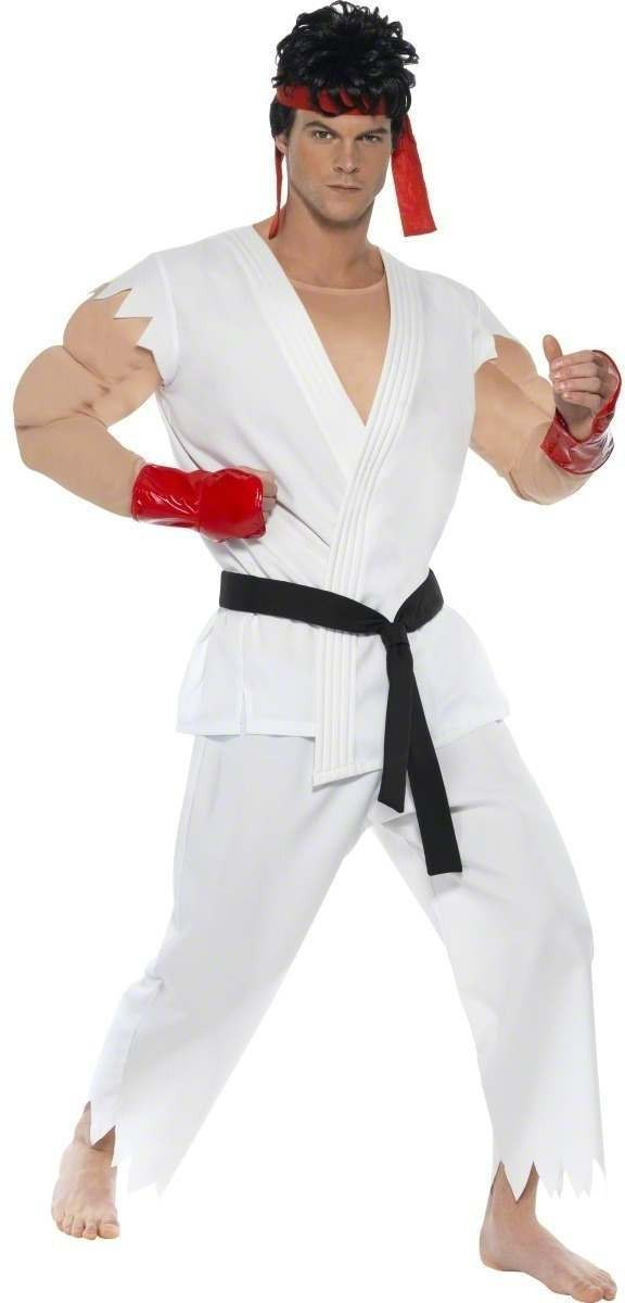 Ryu Costume Street Fighter Iv Costume Mens Size 38-40 S