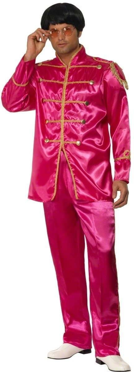 Sergeant Pepper Fancy Dress Costume Mens Size 38-40