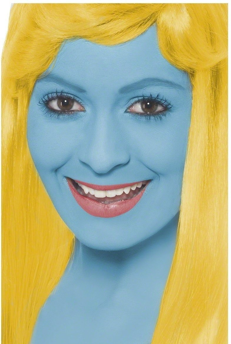 Smurf Make-Up Fancy Dress