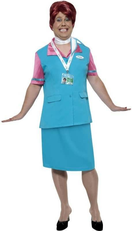 Flylo Check In Staff Fancy Dress Costume