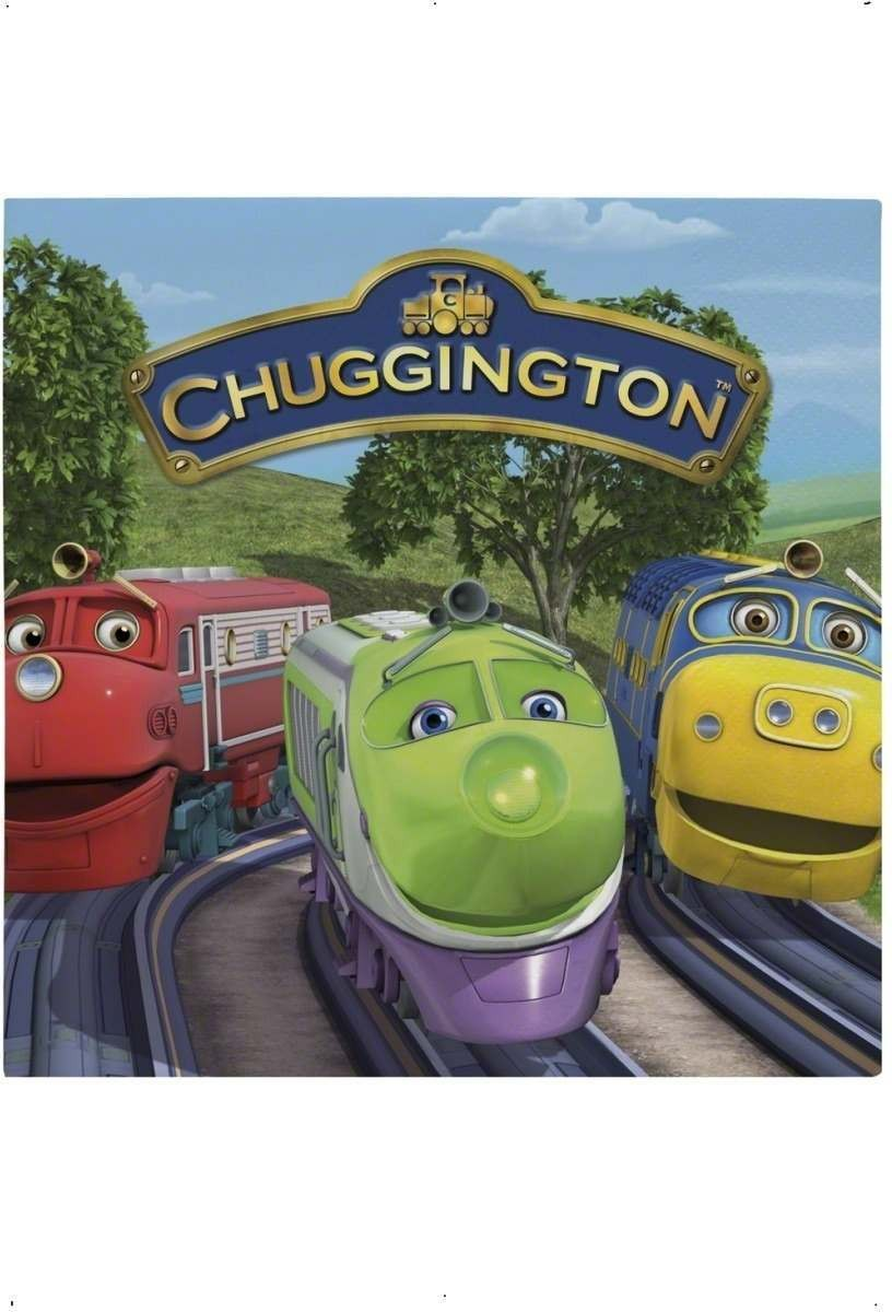 Chuggington Party Napkins Fancy Dress