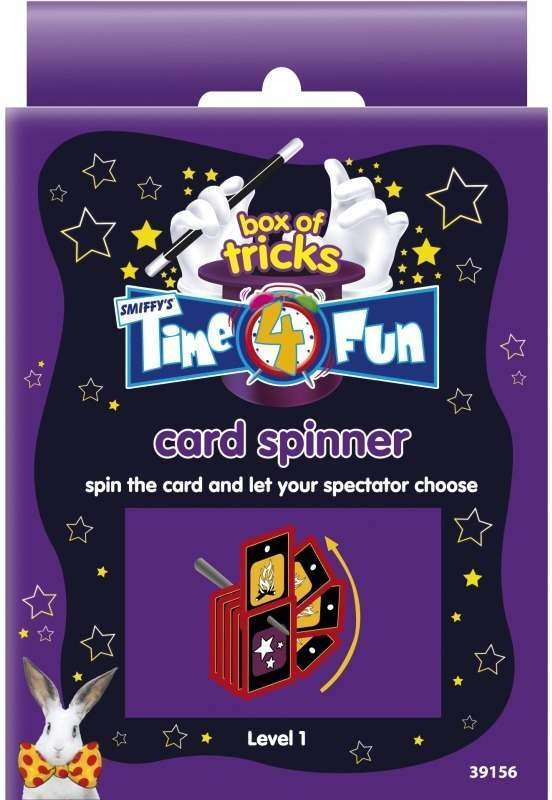 Time 4 Fun Magic Tricks, Card Spinner (Fancy Dress Tricks)