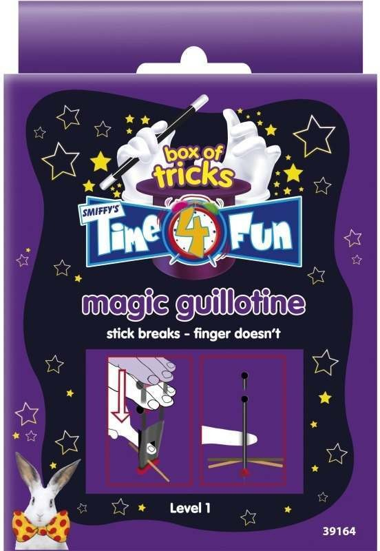 Time 4 Fun Magic Tricks, Magic Guillotine (Fancy Dress Tricks)