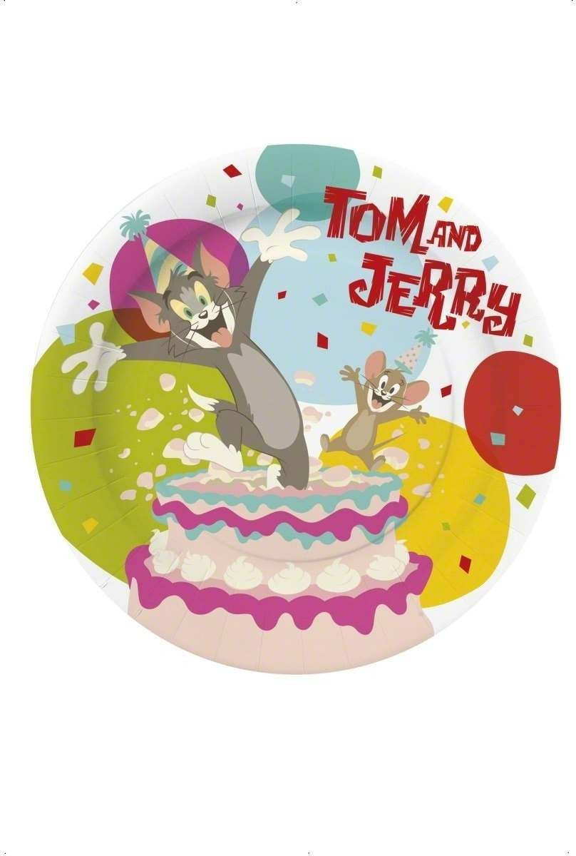 Tom & Jerry Party Plates Fancy Dress