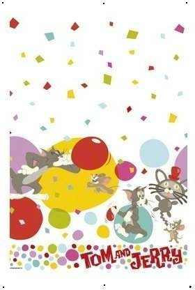 Tom & Jerry Party Tablecover Fancy Dress