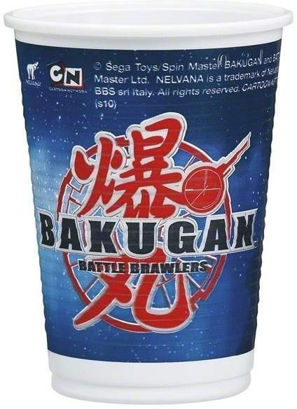 Bakugan Party Cups Fancy Dress