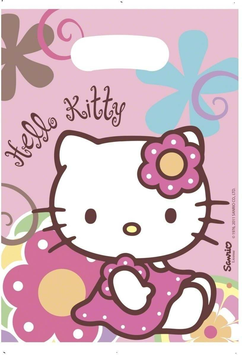 Hello Kitty Bamboo Party Bags Fancy Dress