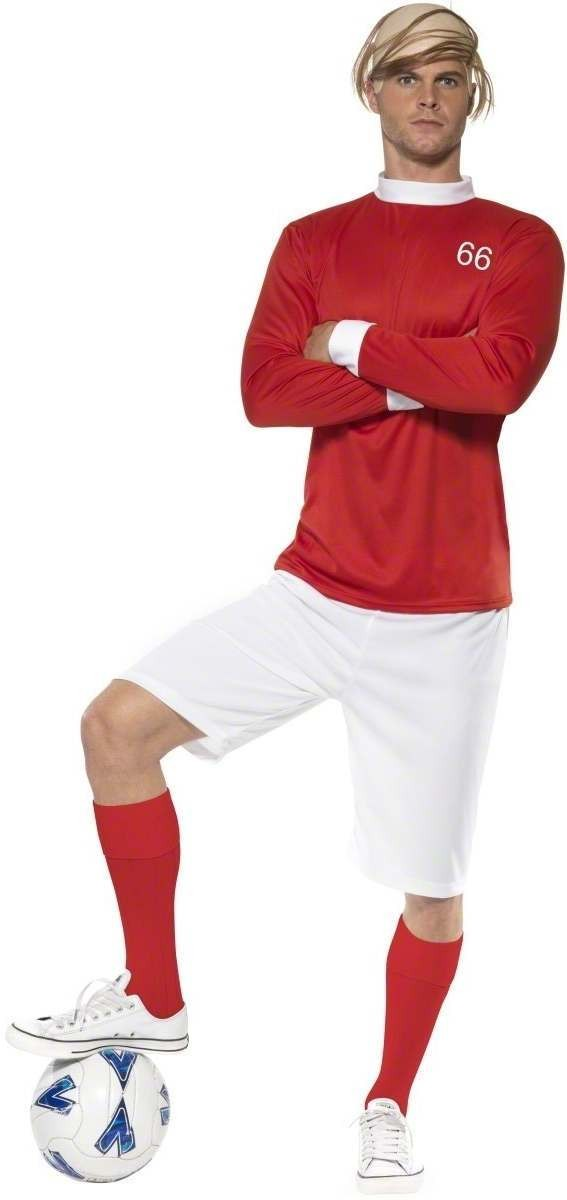 1966 Soccer Hero Fancy Dress Costume Mens (Sport)