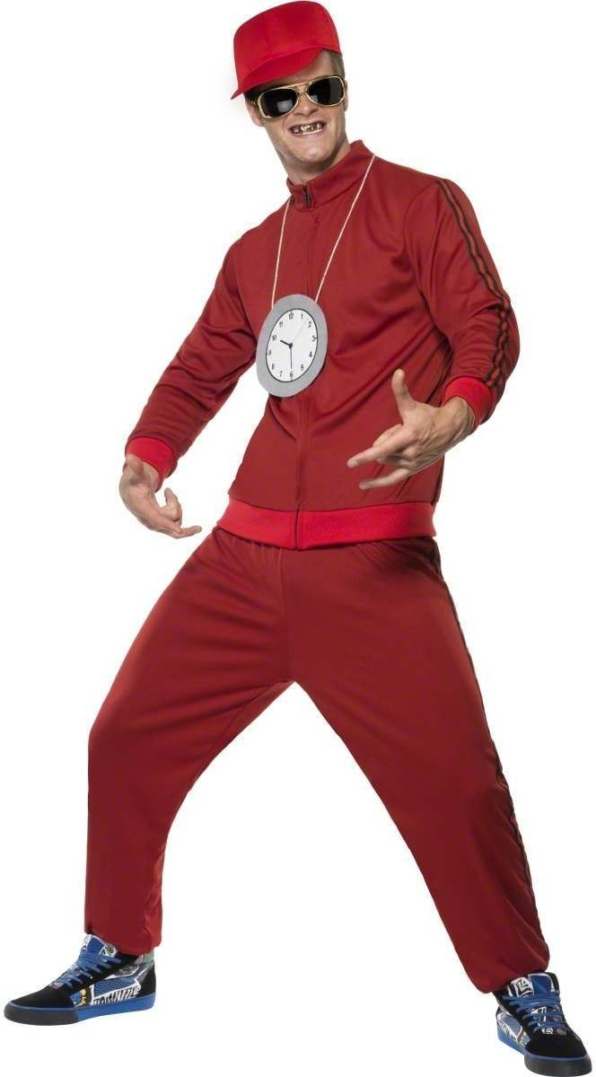 Flava Flava Fancy Dress Costume Mens Size 38-40 S
