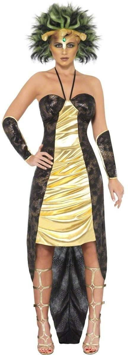 Medusa Fancy Dress Costume Ladies (Halloween)