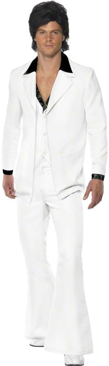 1970'S Suit Fancy Dress Costume Mens (1970S)