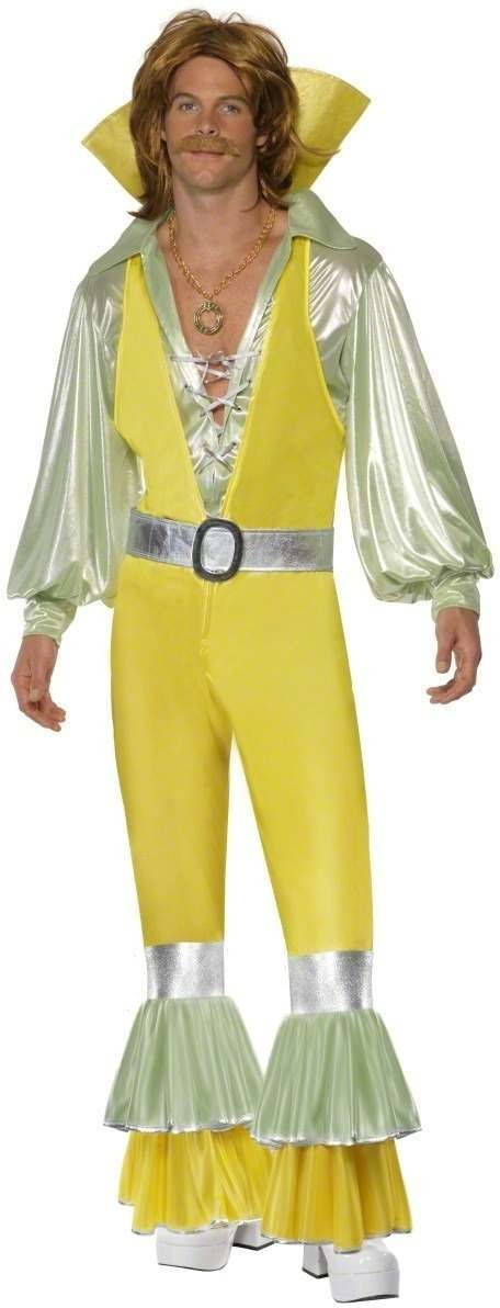 Frilled Fantastic 1970'S Fancy Dress Costume Mens (1970S)