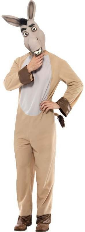 Shrek Donkey Fancy Dress Costume