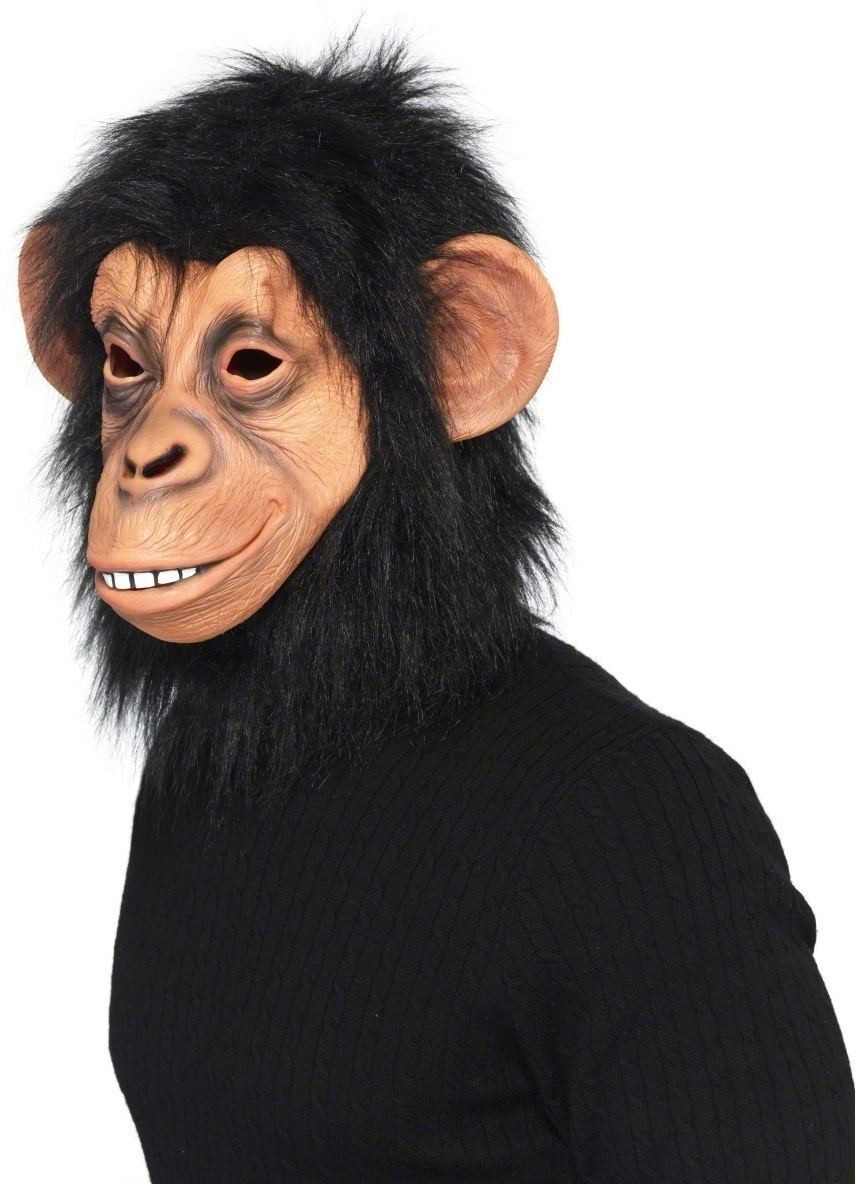 Chimp Mask Fancy Dress