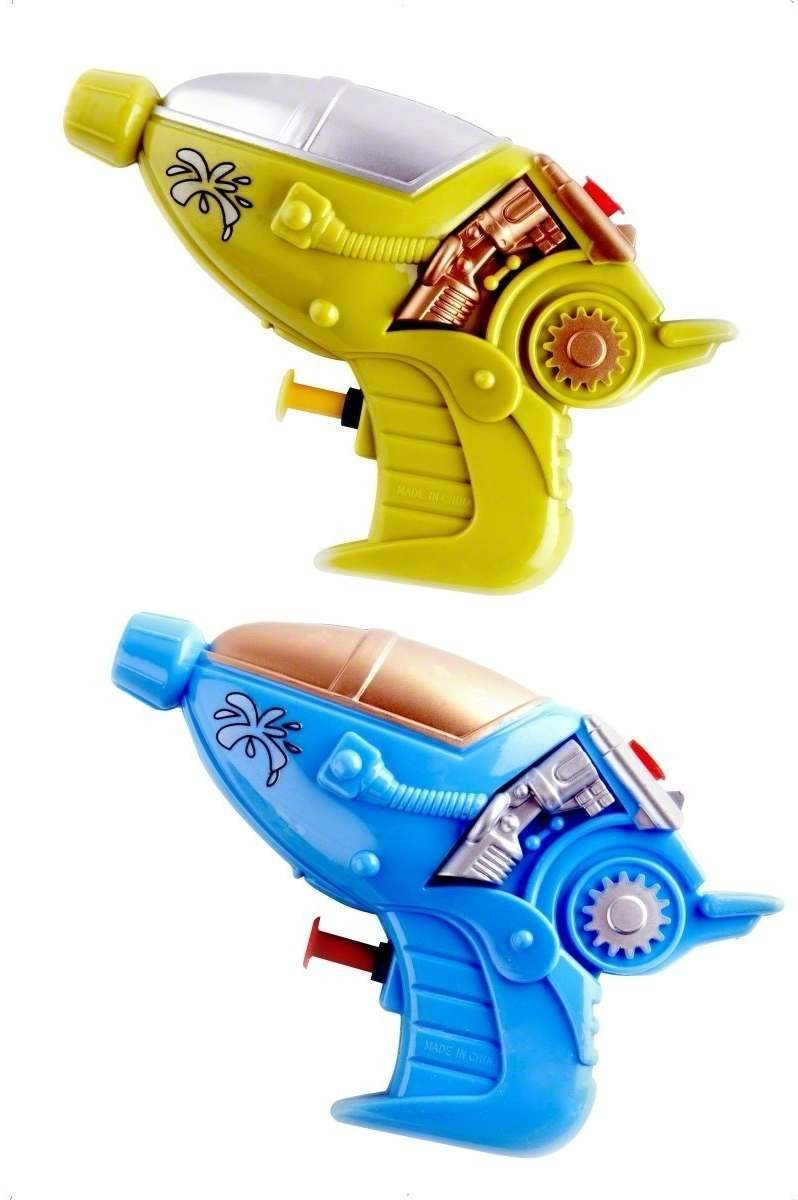 Space Phaser Water Pistol Fancy Dress (1960S , 1970S , 1980S , Cartoon , Sci-Fi)