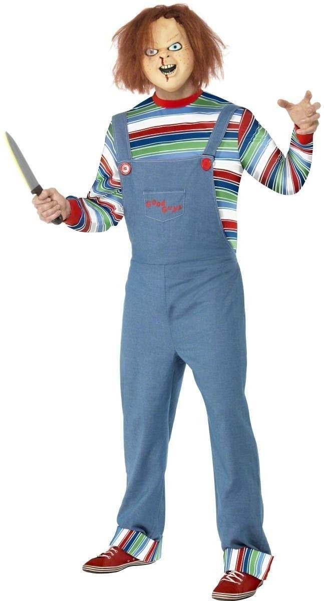 Chucky Fancy Dress Costume Mens (1970S , 1980S , Film , Halloween , Tv)