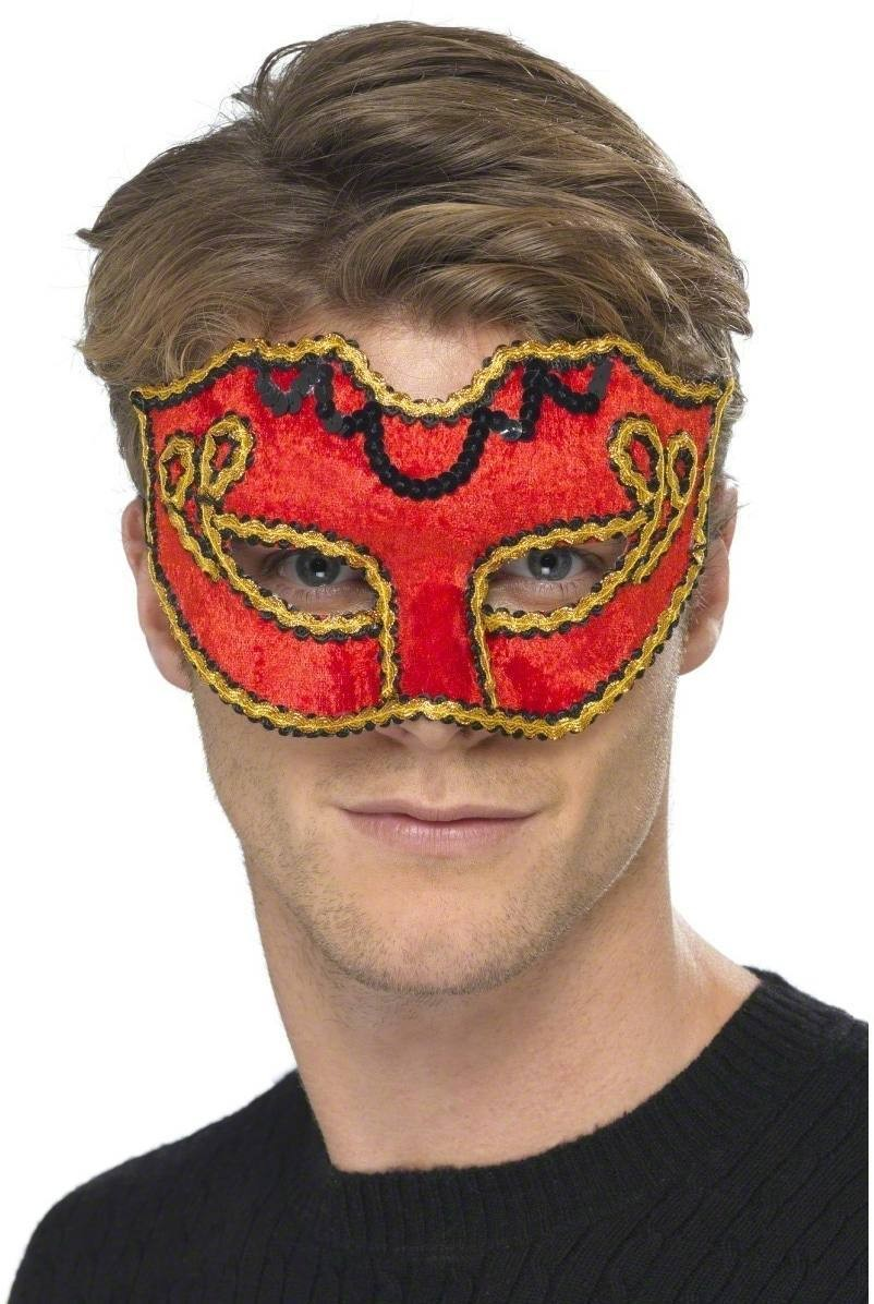 Matador Colombina Eyemask Fancy Dress Mens