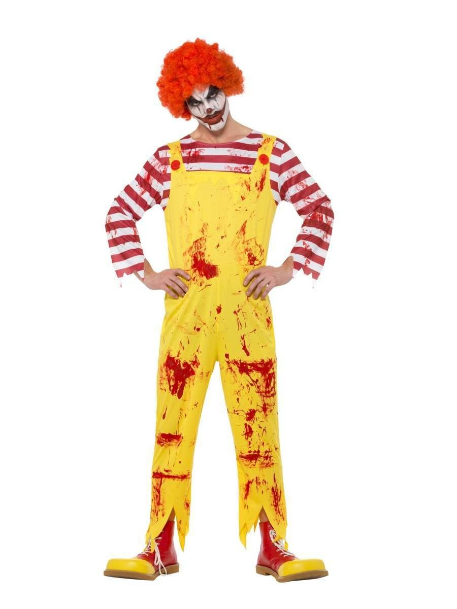 Kreepy Killer Clown Costume Fancy Dress