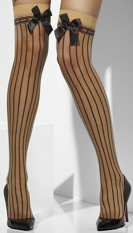 Ladies Nude Sheer Hold-Ups