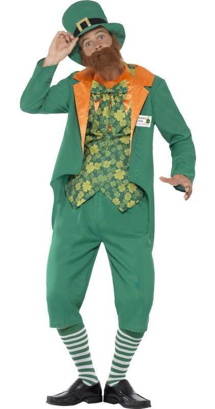 Men'S Sheamus Craic St Patrick Stag/Party Fancy Dress Costume