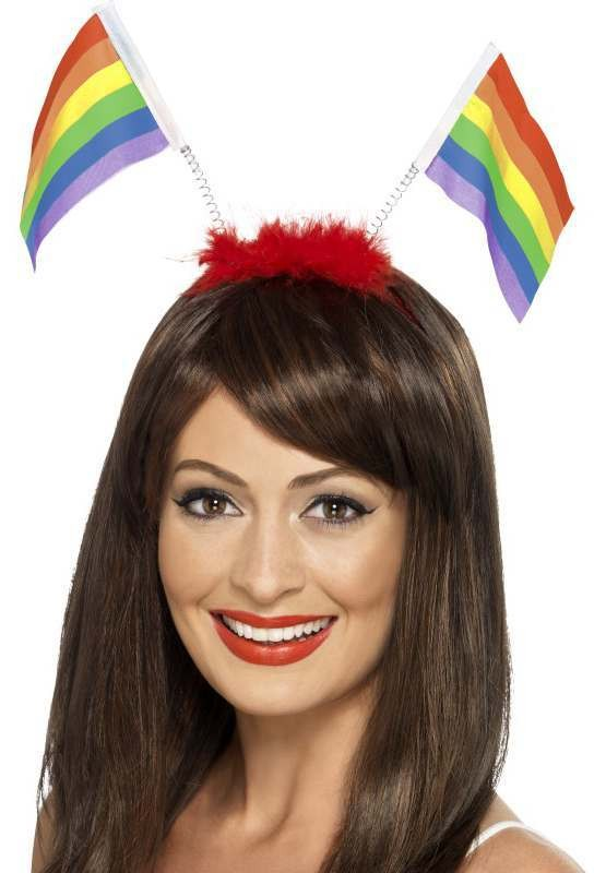 Unisex Rainbow Flag Head Boppers