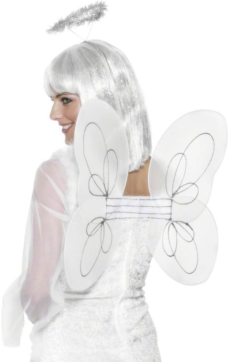 Angel Set - Fancy Dress Ladies - White