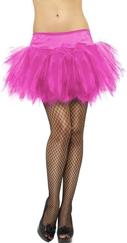 Ladies Pink Frilly Tutu (Fancy Dress Accessory)