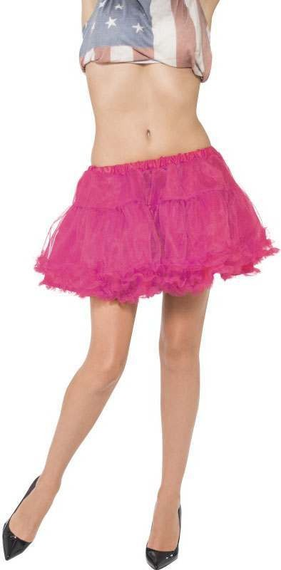 Ladies Pink Petticoat (Fancy Dress Accessory)