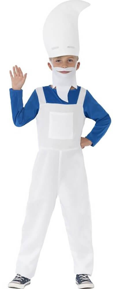 Boys Blue Gnome Fancy Dress Costume