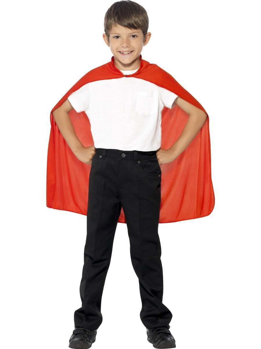 Cape Red Fancy Dress Costume
