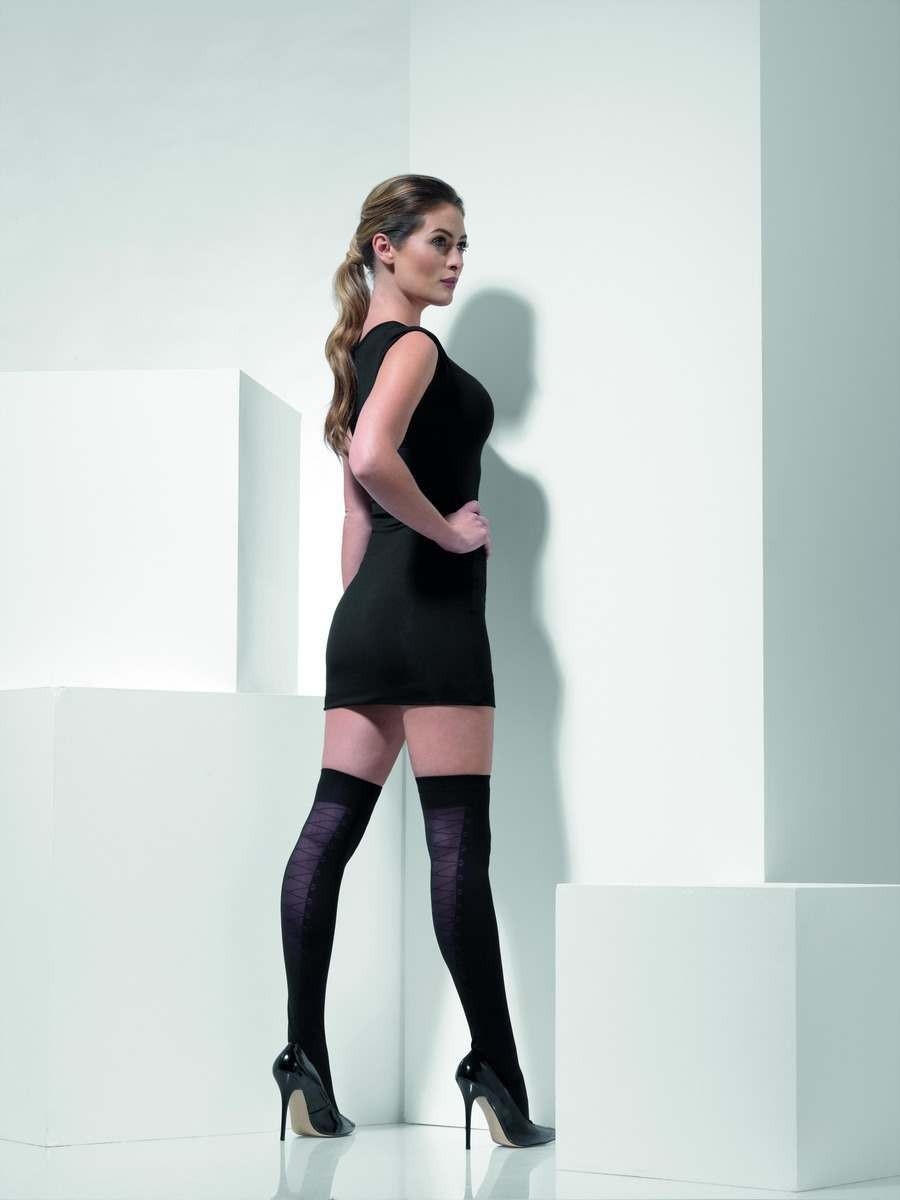 Opaque Hold-Ups Fancy Dress Accessory