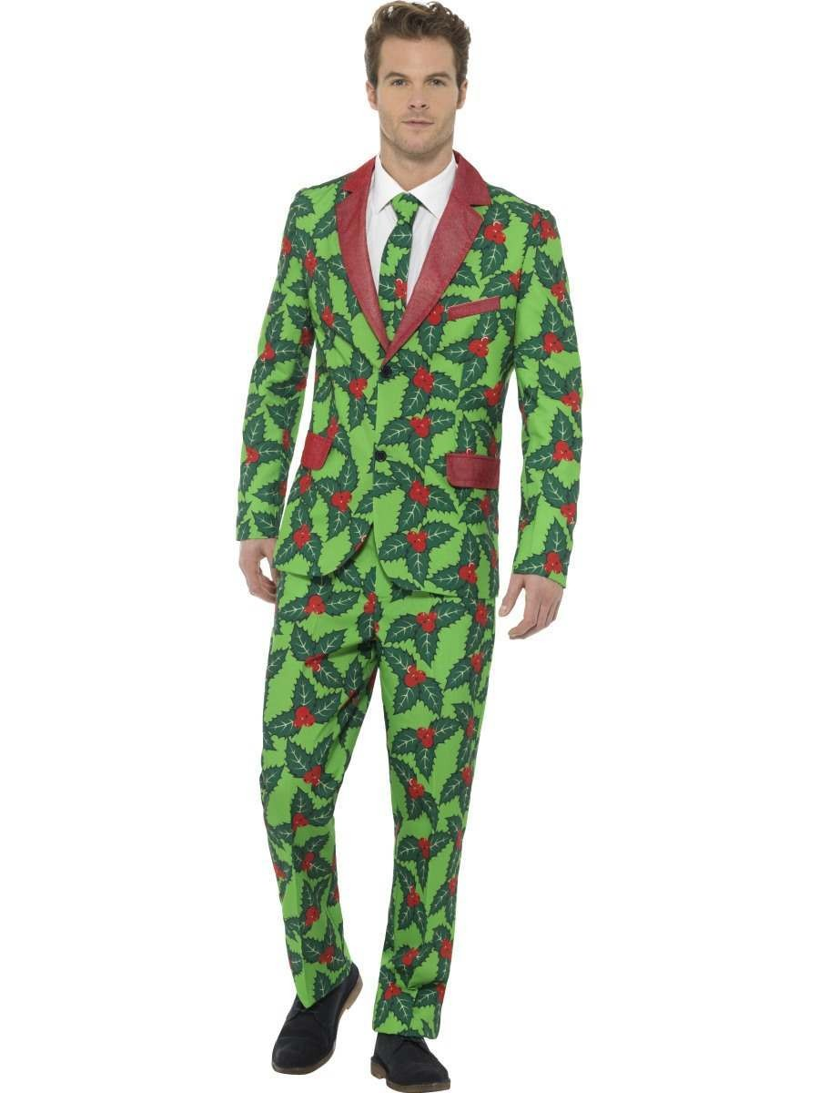 Holly Berry Suit Fancy Dress Costume