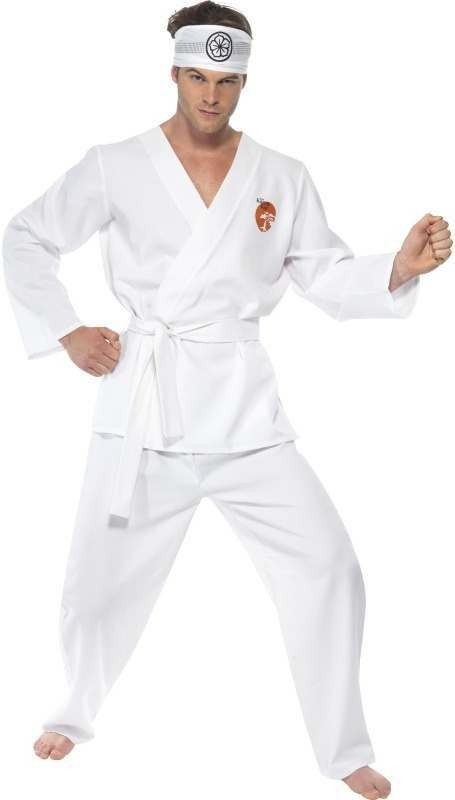 Daniel San Karate Kid , Adult Fancy Dress Costume