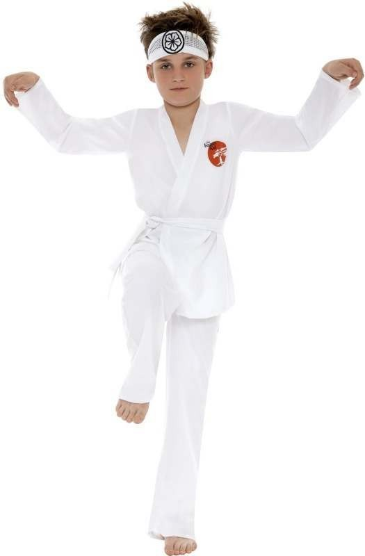 Daniel San Karate Kid , Child Fancy Dress Costume