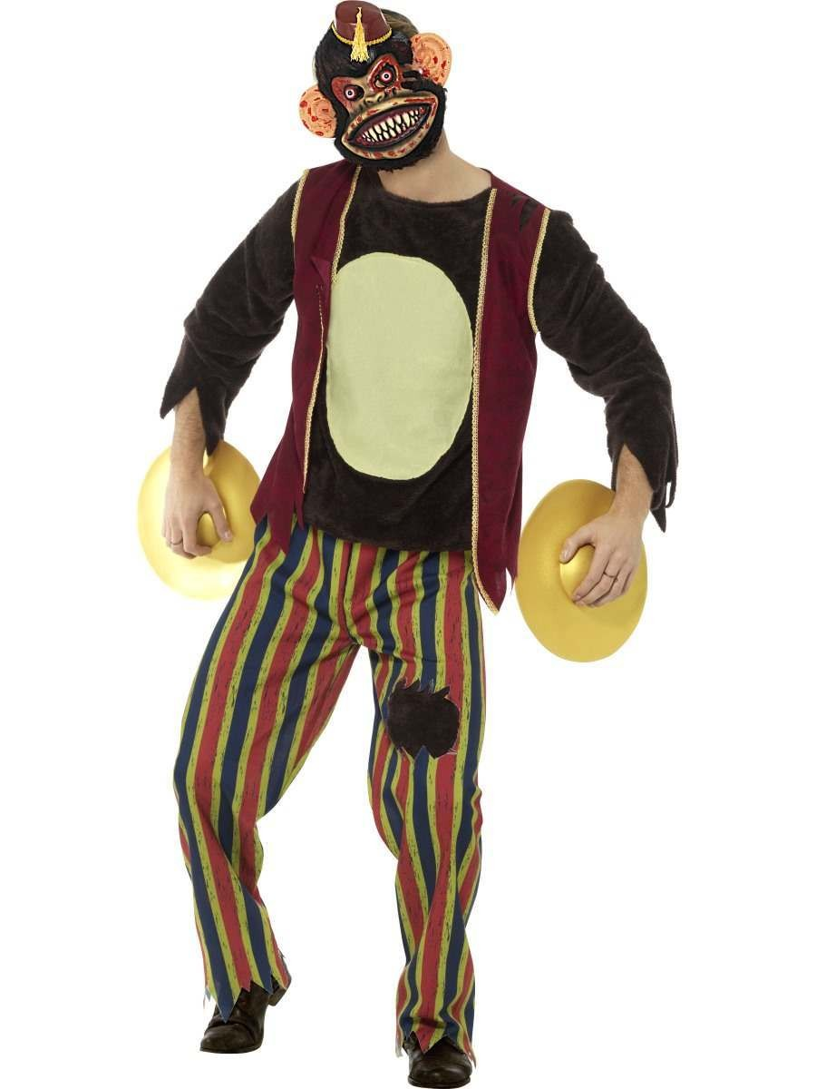Deluxe Clapping Monkey Toy Costume Fancy Dress