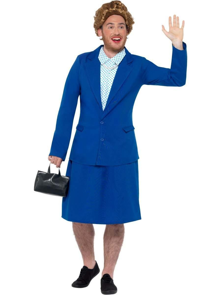 Iron Lady Prime Minister Costume Fancy Dress