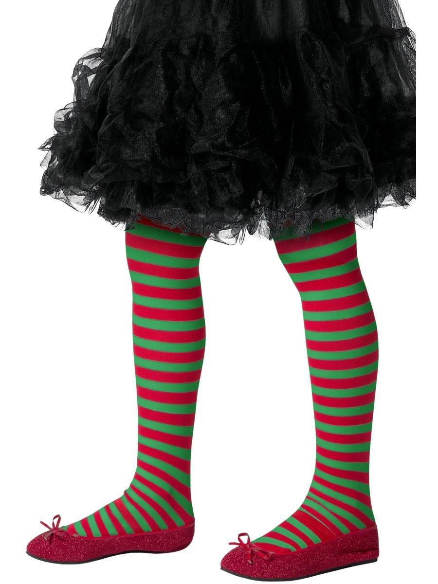 Striped Tights, Childs Fancy Dress Accessory
