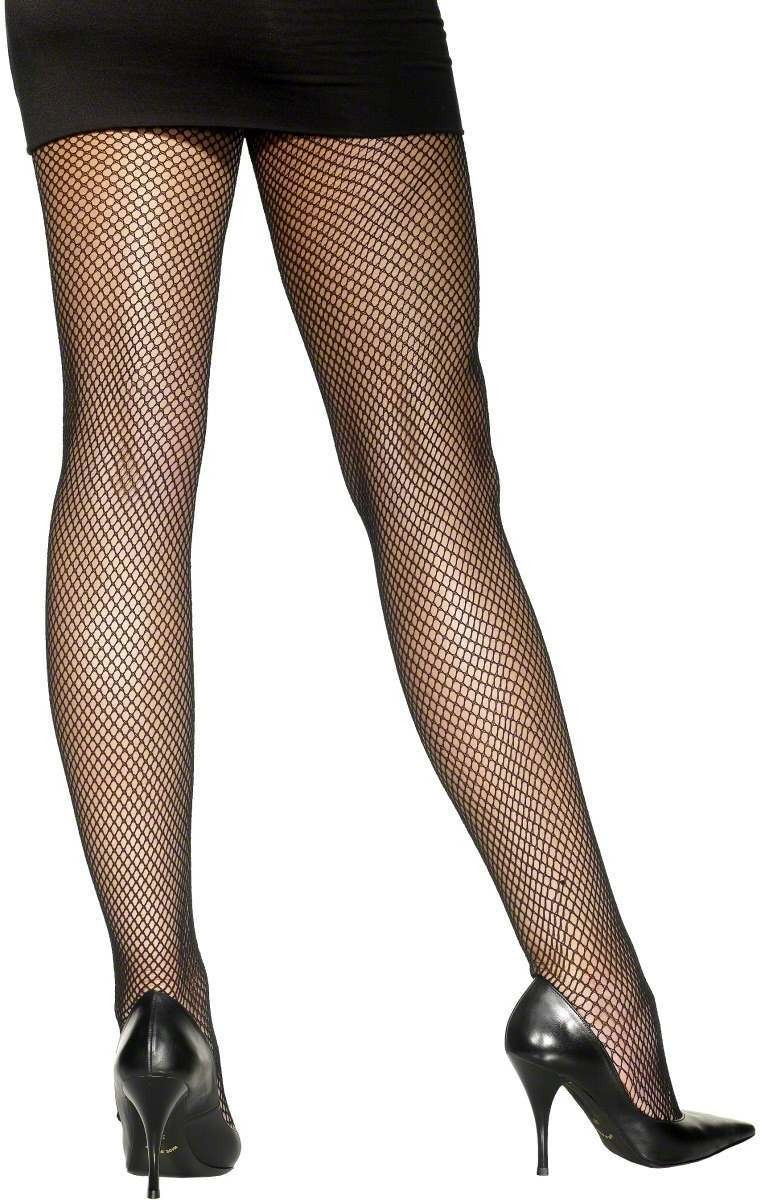 Fishnet Tights Black - Fancy Dress Ladies