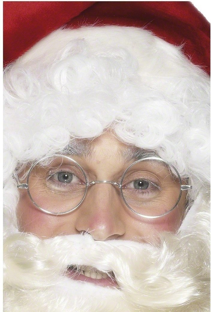 Wire Framed Santa Specs - Fancy Dress (Christmas)