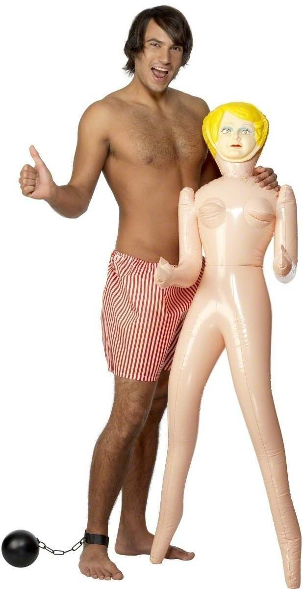 Blow-Up Doll - Fancy Dress Mens (Hen & Stag)