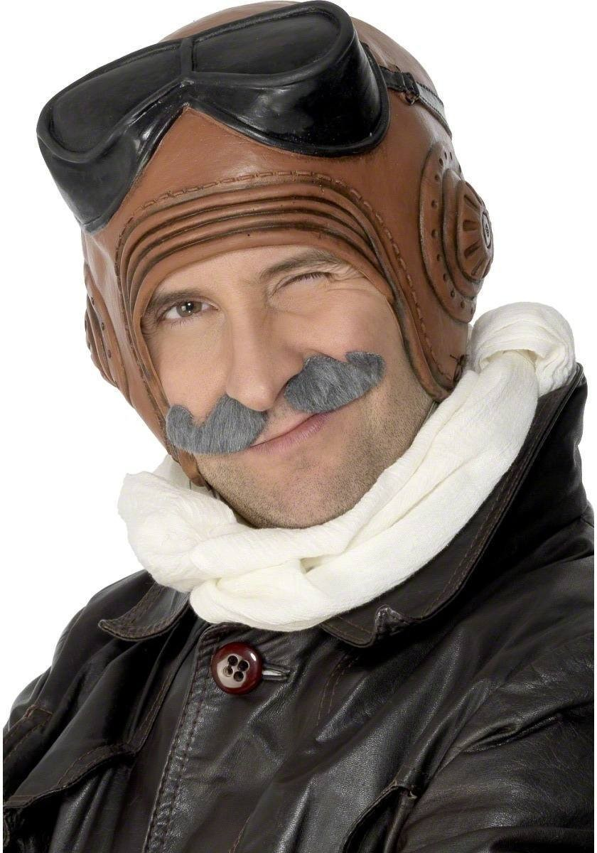 Biggles Flying Helmet - Fancy Dress Mens